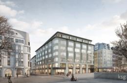 Perspektive Roncalliplatz, Köln (© ksg / rendertaxi)