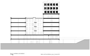 Schnitt BB | Bild: ksg-architekten