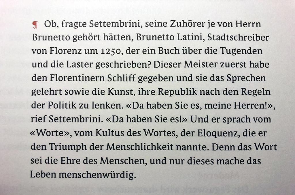 """Das Zitat stammt aus dem """"Zauberberg"""" von Thomas Mann. Andreas Tönnesmann (1953-2014) stellte seiner Publikation """"Die Freiheit des Betrachtens. Schriften zu Architektur, Kunst und Literatur"""" voran."""