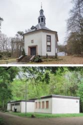 Kirchlein und Gemeinderäume vor dem Umbau (Bild: Architekten)