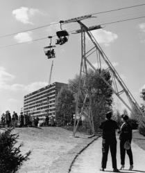 Bartnings Beitrag zur Interbau (Foto: Akademie der Künste, Berlin)