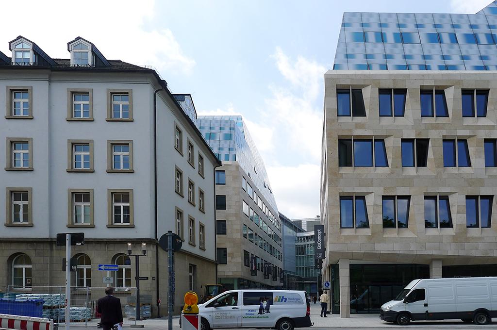 Blick vom Karlsplatz Richtung Karlspassage (Bild: Ursula Baus)
