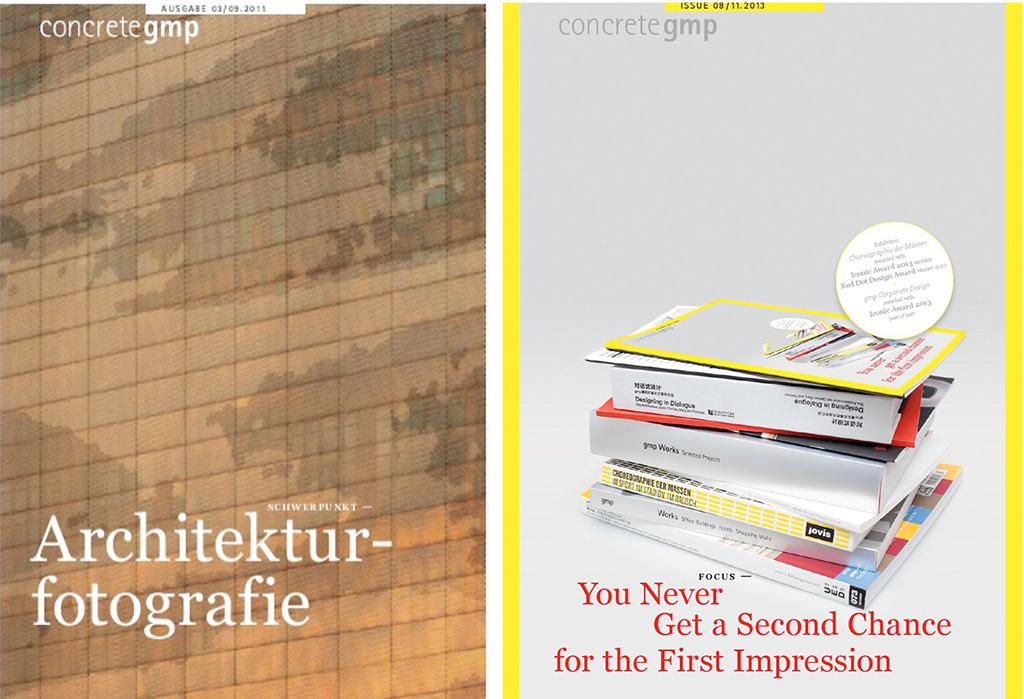 """Nein, es geht bei """"concretegmp"""" nicht um Projekte des Büros gmp, die in Beton realisiert worden sind, sondern um Themen weiterer Relevanz. (Bild: website gmp)"""