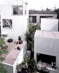 Haus Moriyama in Tokyo, 2006 von R yue Nishizawa gebaut (Bild: Edmund Sumner)
