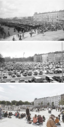 Transformation der Israel Plads in Kopenhagen (Bild: COBE)
