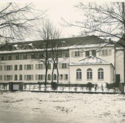 Das Franz-Rohde-Haus (Bild: Meinrad von Engelberg, Bartning-Archiv der TU Darmstadt)