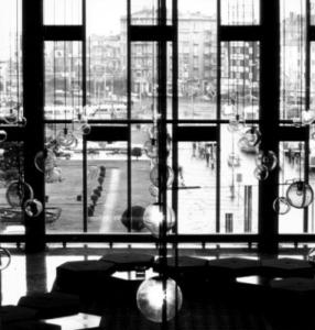 Foyer des Kulturzentrums in den späten 1960er-Jahren (Bild: Archiv)