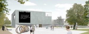 Entwurf für die Galerie der Gegenwart von two architekten aus Köln
