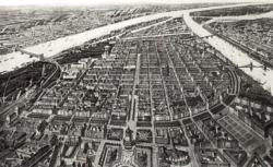 Mannheim um 1900 (Bild: Wikicommons)