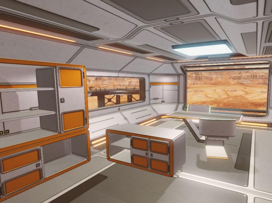 Die Mars-Wohnungsküche (Bild: Immoscout)