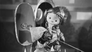Der Sandmann des DDR-Fernsehens war seit 1959 im Weltraum unterwegs – Kolonialismus in medialer Variante (Bild: wikipedia free)