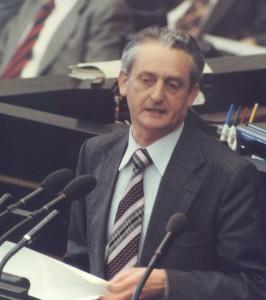 Der Bundestagsabgeordnete Herbert Gruhl im den 1970er-Jahren. (Bild: www.herbert-gruhl.de)