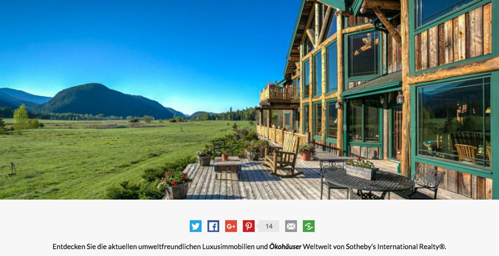 """Eines der """"5 coolste(n) Luxus Ökohäuser der Welt"""", ausgewählt von http://wohn-designtrend.de/coolste-luxus-oekohaeuser-der-welt"""