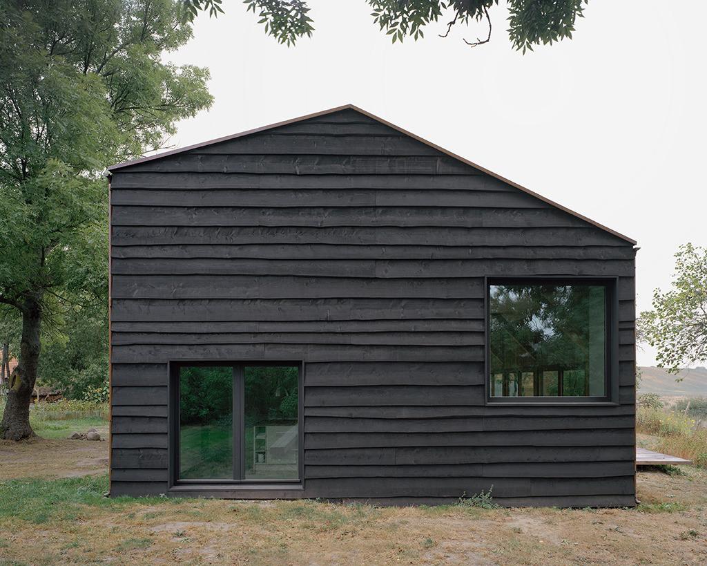 Wohnhaus in Lindetal. Architekten: AFF architekten und Stephan Hahn Architekt & Zimmerer (Bild: Hans Christian Schink)