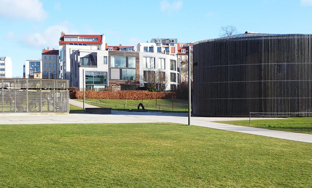 Baugruppensiedlung in der Strelitzer Straße 53 (2004-2007, Architekten: FAT Koehl in Kooperation mit Anna von Gwinner (Bild: Wolfgang Kil)