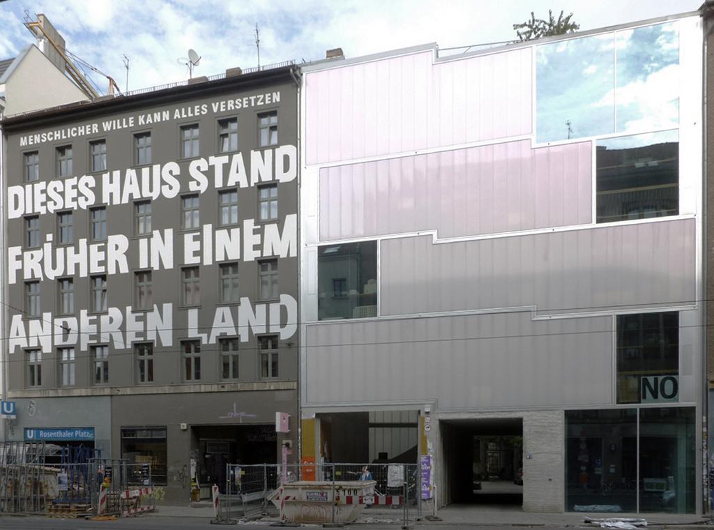 Lückenschließung in der Brunnenstraße von Brandlhuber Architekten (Bilder: Wolfgang Kil)