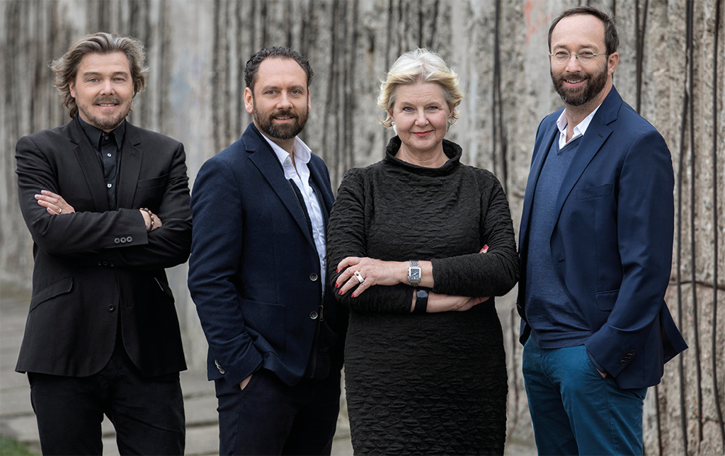 Lars Krückeberg, Thomas Willemeit, Marianne Birthler, Wolfram Pütz (Bild: GRAFT)
