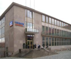 Von Sep Ruf als Bank gebaut, logiert hier in Nürnberg heute das Heimatministerium. (Bild: Wikimedia)