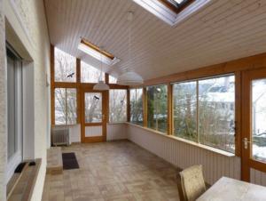 Es mag ein Balkon gewesen sein – die Wintergarten-Welle hinterlässt schwer nutzbare Räume. (Bild: privat)