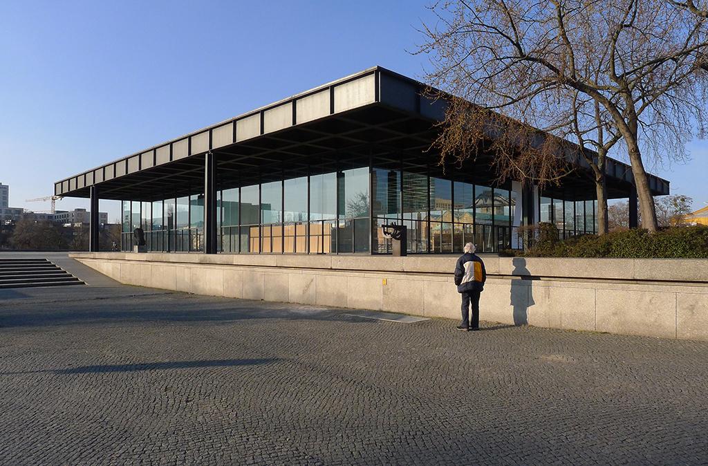 Die Berliner Nationalgalerie 2015, vor der aktuellen Sanierung (Bild: Ursula Baus)