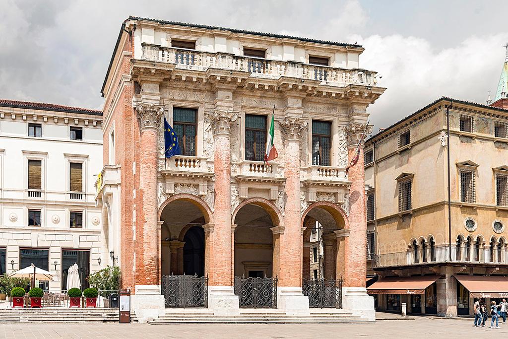 Palazzo del Capitanio, Vicenza (Bild: Wikipedia, Didier Descouens)