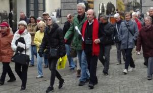 Der öffentliche Stadtraum war auch Roland Ostertags Bühne. (Bild: stuttgart-wohin.de)