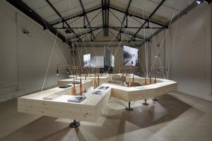 Die Ausstellung wurde von Georg Vrachliotis kuratiert und von Marc Frohn / FAR frohn&rojas gestaltet und realisiert.