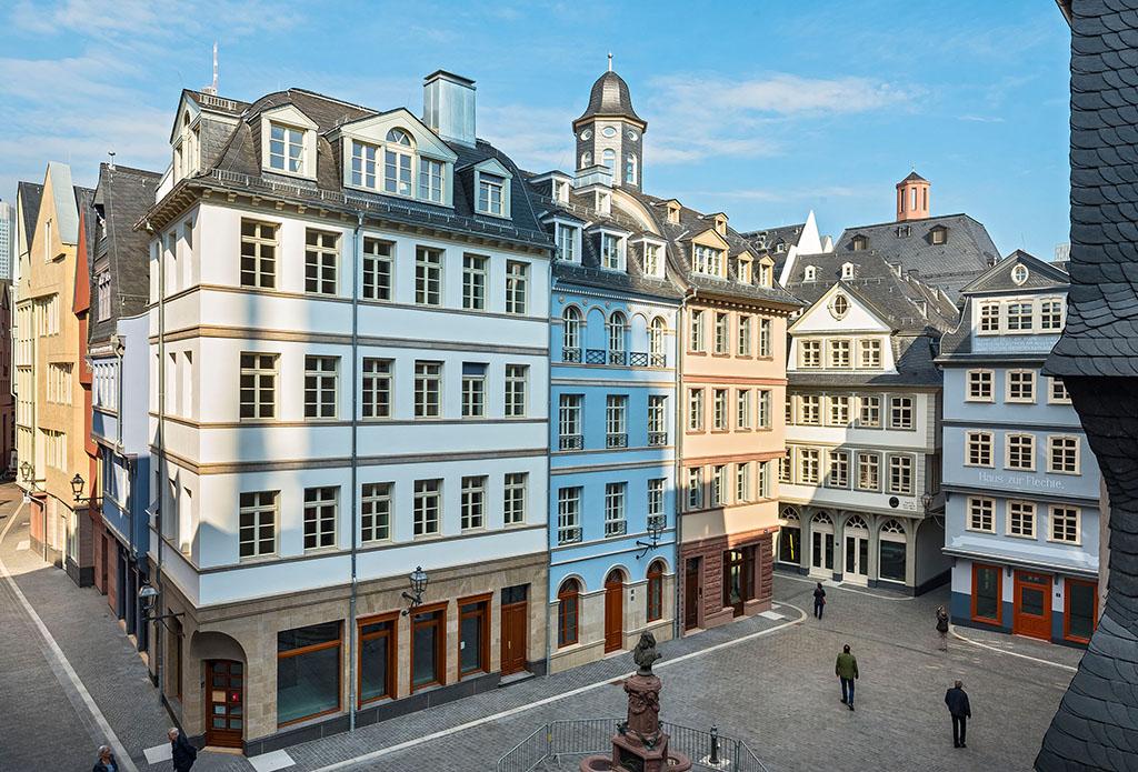 Frankfurt am Main, Dom Roemer Areal, Huehnermarkt