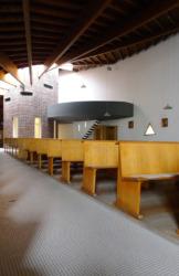 Die Église Notre-Dame in Wiesberg, 1965 von Émil Aillaud (Bild: Ursula Baus)