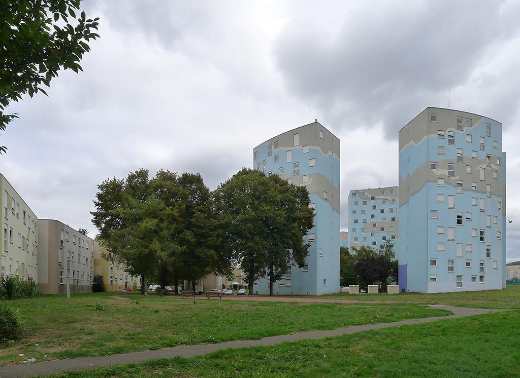 Die Siedlung Wiesberg in Forbach, gebaut von Emil Aillaud (Bild: Ursula Baus)
