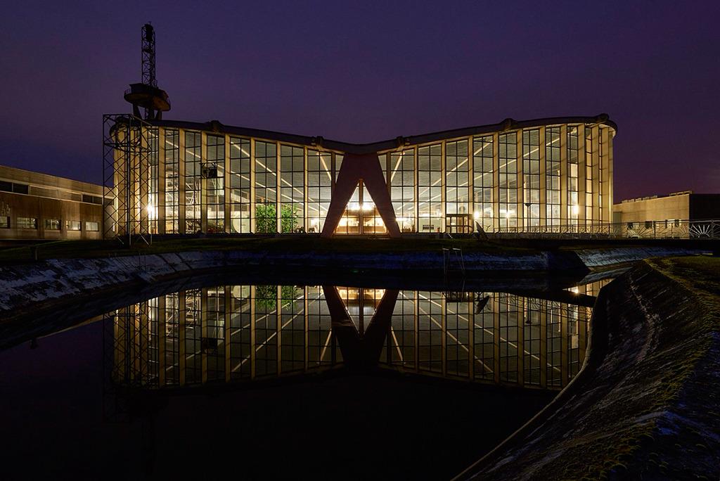 Sendehalle des Langwellensenders Europe 1 (Bild: Marco Kany)