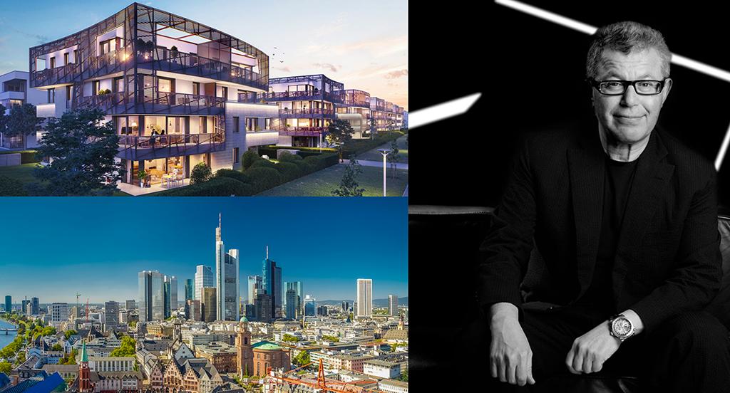 "Exklusiv am Riedberg: Daniel Libeskind entwarf das Projekt ""Verve"". (Bild: https://www.verve-frankfurt.de/)"
