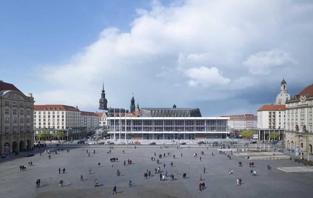 Sanierung und Umbau Kulturpalast Dresden