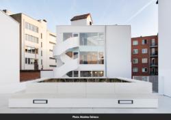 Design und Mode Centre in Brüssel, 2017 mit Vplus Architekten (Bild: Maxime Delvaux)