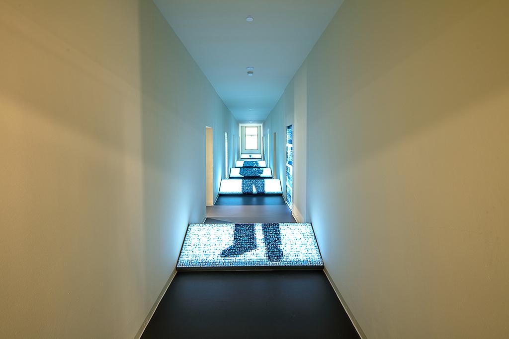 Flur im Obergeschoss (Bild: Daniel Stauch)
