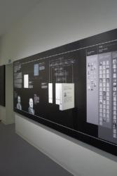 Kompakt untergebrachte Informationsmodule (Bild: Ursula Baus)