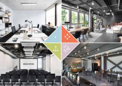 Einlibkce in die komfortablen, flexibel zu nutzenden Büros (Bild: Design Offices)