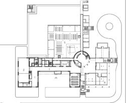 Erdgeschoss-Grundriss (Bild: Staab Architekten)