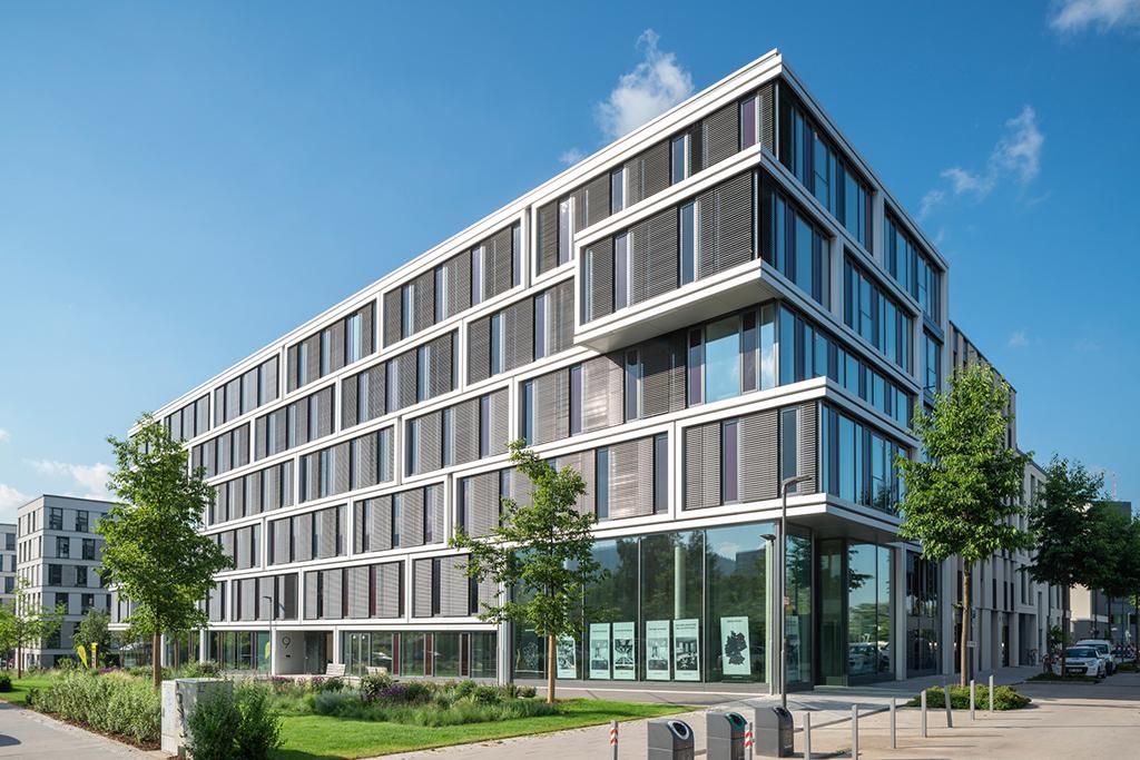 """""""Colours"""" nennt die Deutsche Wohnwerte ihren Büroneubau, der flexibel zu nutzen ist. (Bild: Deutsche Wohnwerte, **)"""