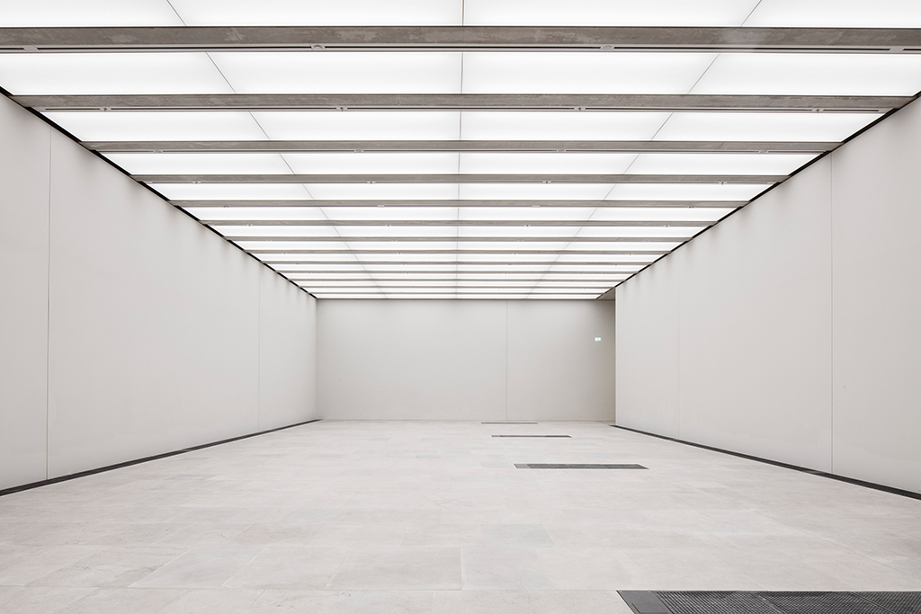 Sonderausstellungsraum (© Ute Zscharnt für David Chipperfield Architects)