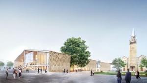 Visualisierung des Museumsentwurfs (Bild: Herzog & de Meuron)
