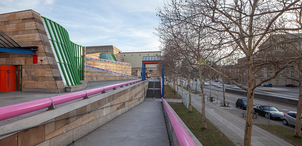 Staatsgalerie Stuttgart, 1984 eröffnet (Bild: Wilfried Dechau, 2019)