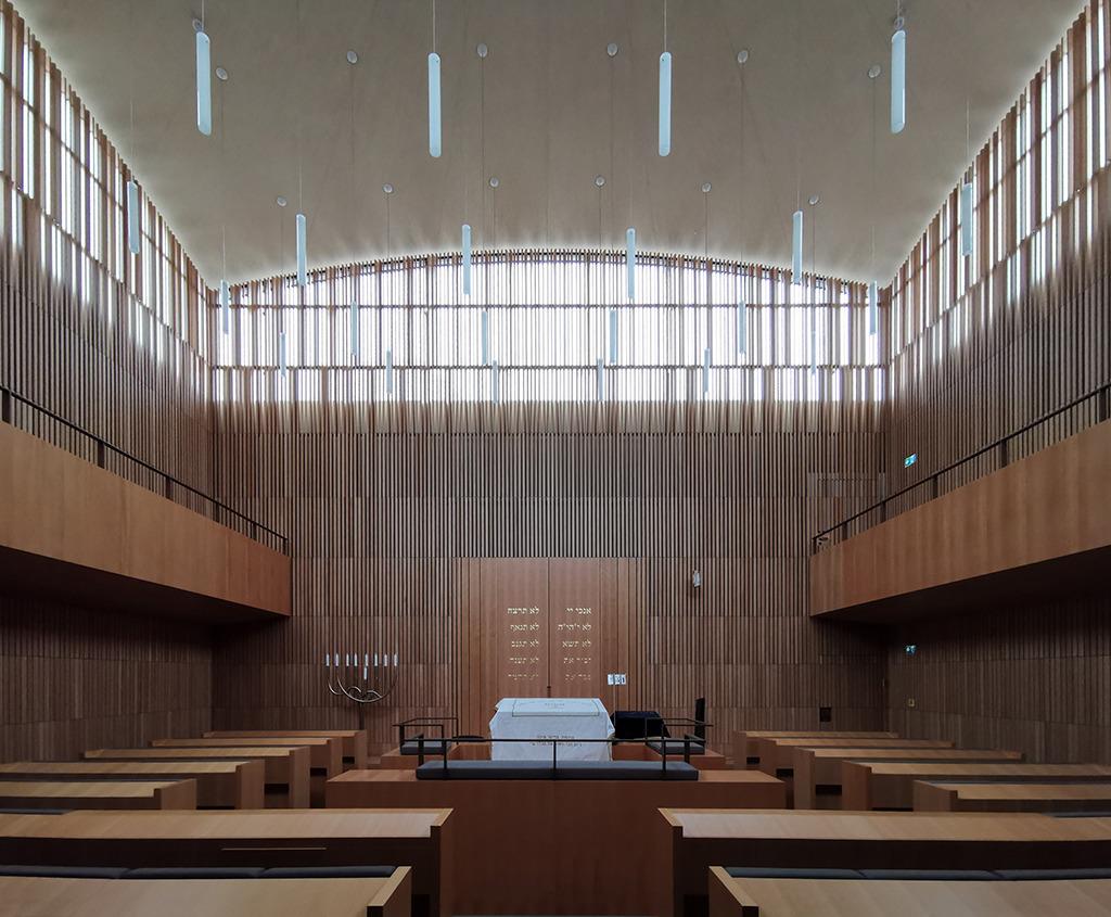 Die Synagoge mit flcher Holzkuppel (Bild: Wilfried Dechau)