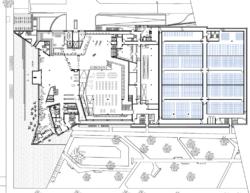 Grundriss Erdgeschoss (Bild: Bolles+Wilson)