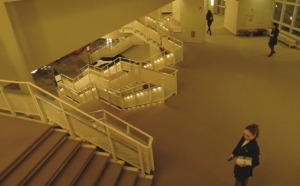 Foyer der Philharmonie in Berlin | Hans Scharoun 1960-63 (Bild: Ursula Baus)