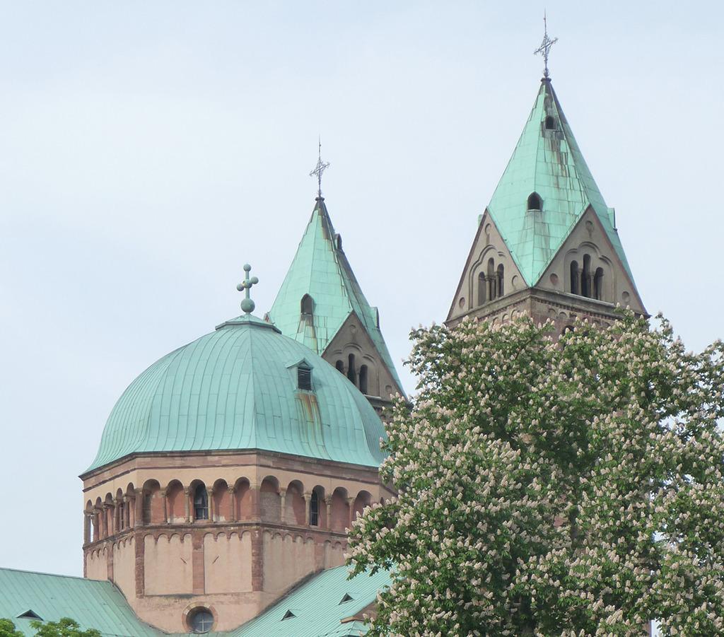 Speyer, Dom, Vierungskuppel (Bild: Wolfgang Bachmann)
