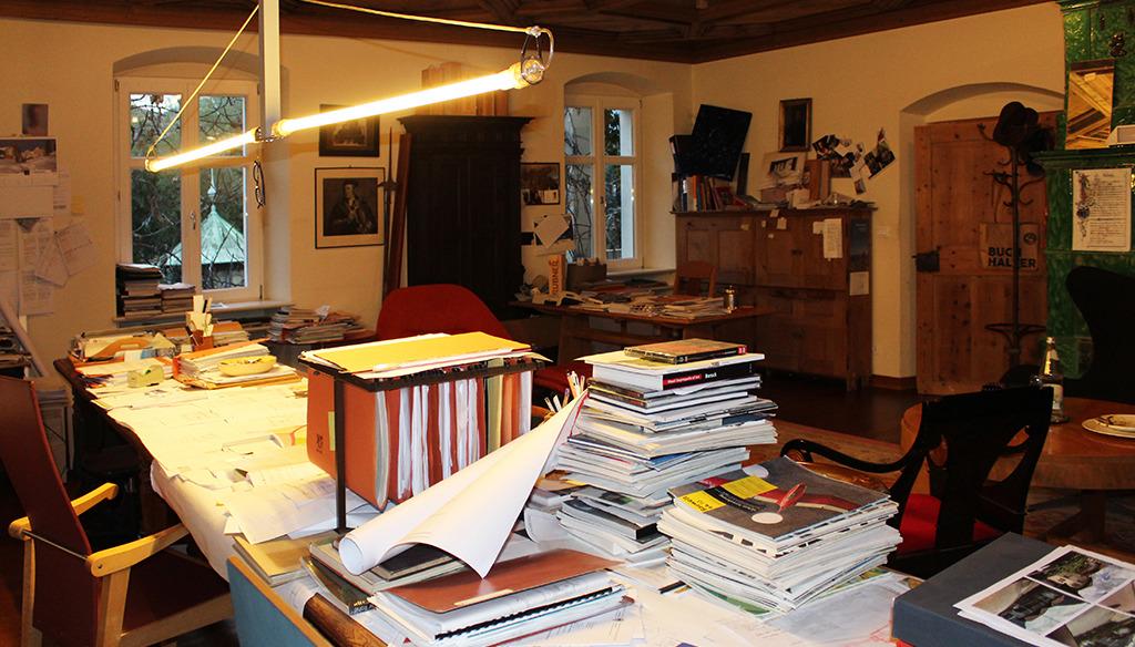 Das Büro des Architekten Zeno Bampi (Bild: Zampi)
