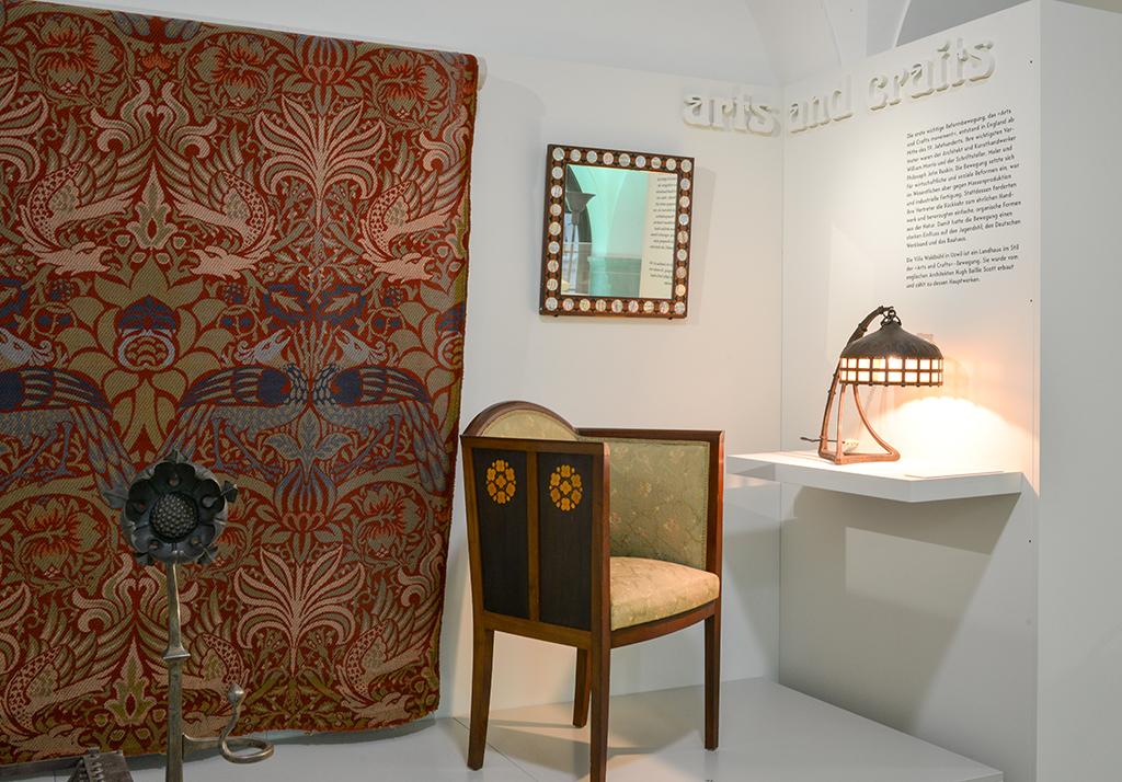 Arts and Crafts wandte sich mit handwerklichem Ethos gegen die industrielle Massenproduktion. (Bild: HVMSG)
