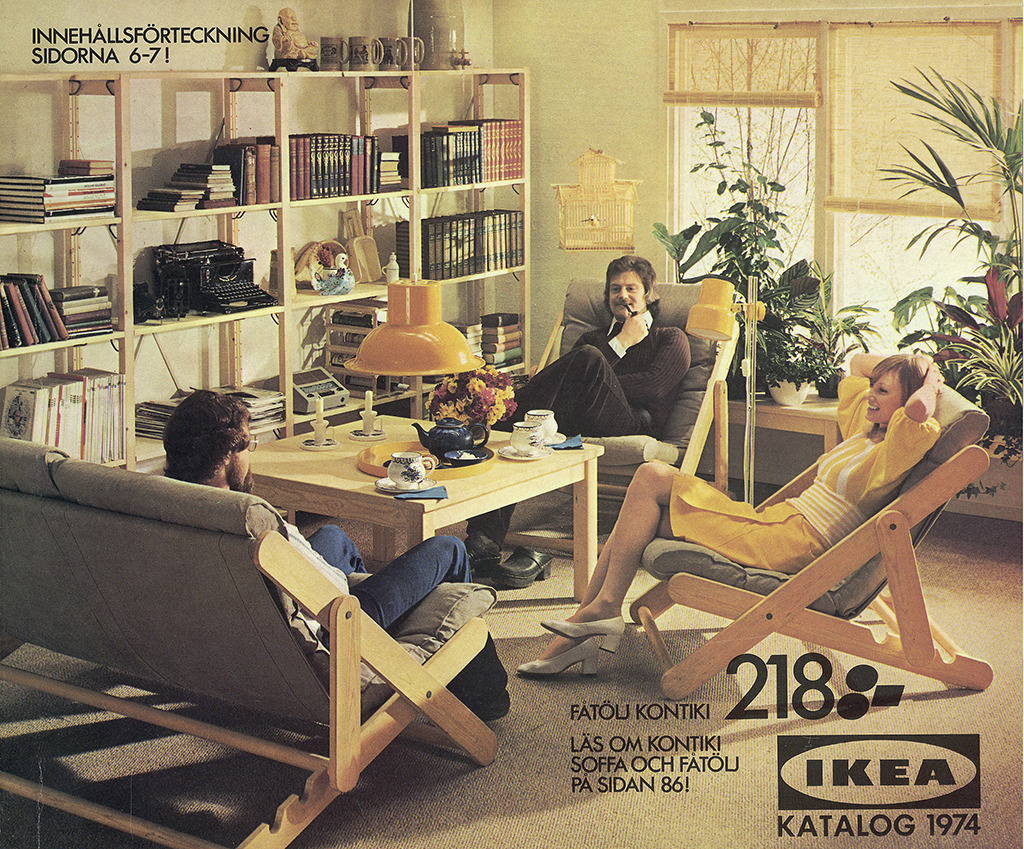 IKEA, Katalog-Titel, 1974 (© Inter IKEA Systems B.V.)