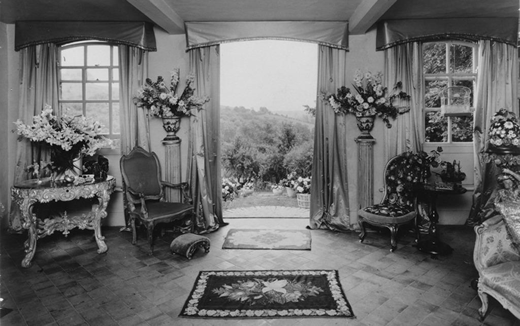 Cecil Beaton, Salon in Ashcombe, Wiltshire, 1930-1945, Foto: 1932 (© The Cecil Beaton Studio Archive at Sotheby's, mit freundlicher Genehmigung von Andrew Ginger)